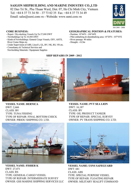 Thome Shipping Fleet